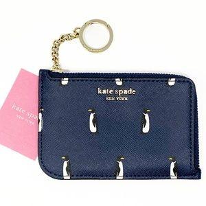 ♠️ NWT Kate Spade Medium L-Zip Card Holder
